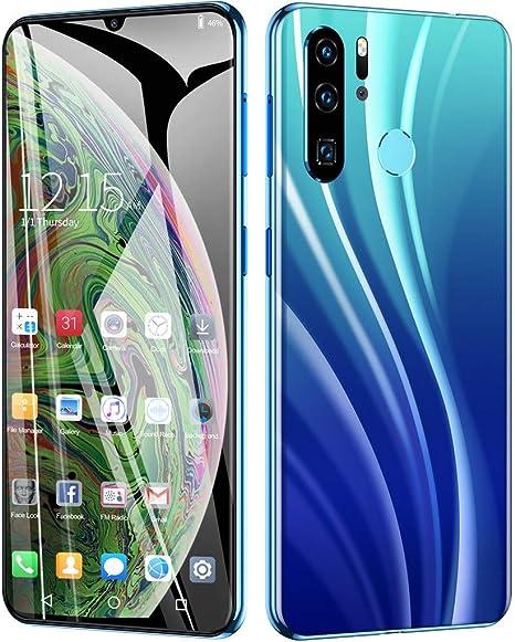 HSKB P40 Smartphone sin Contrato, 4 Core 6,3 Pulgadas, Pantalla de Gotas de Agua, batería