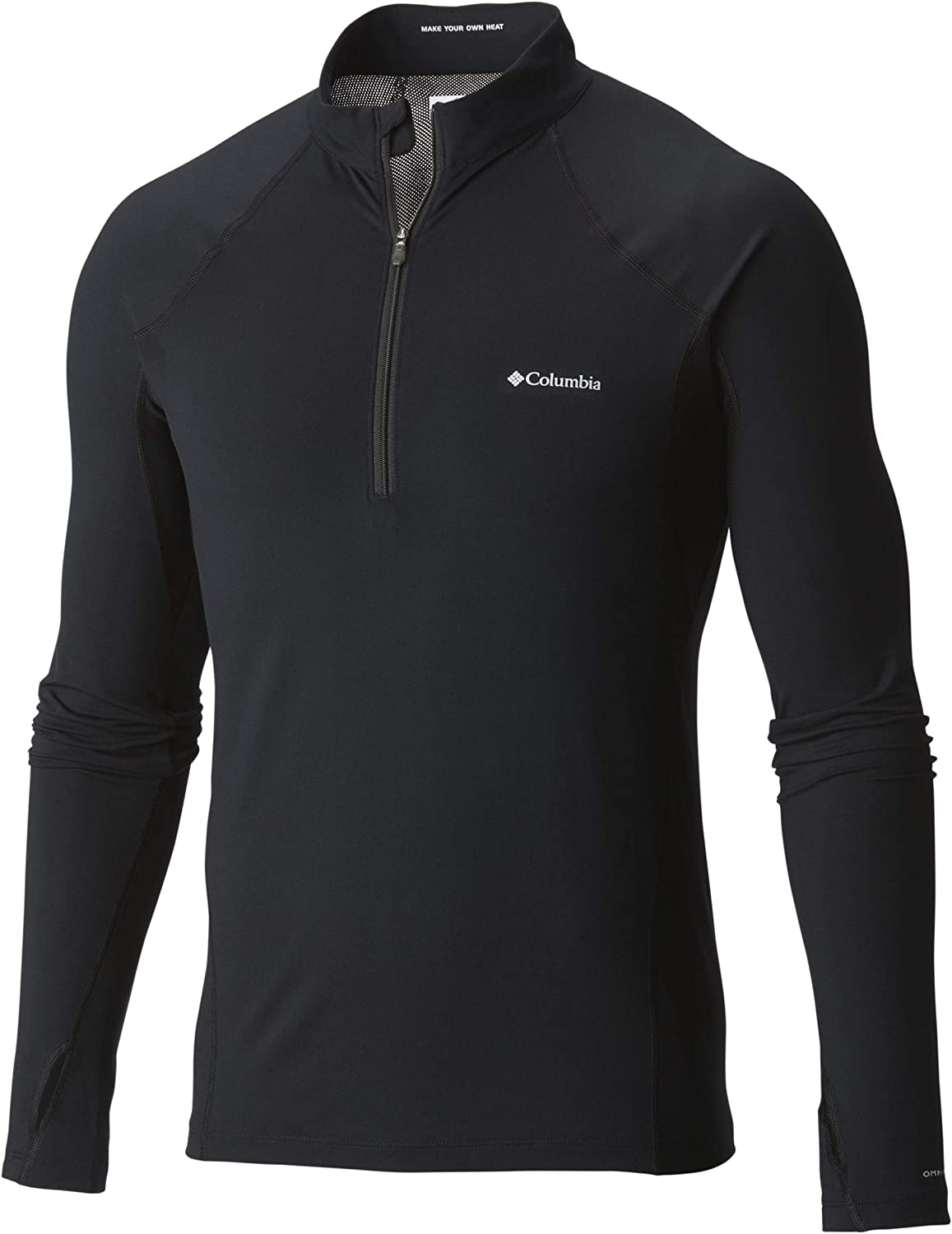 More Mile More-Tech Mens Running Top Half-Zip Long Sleeve Hoody Soft Breathable