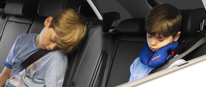 Accessorio per seggiolino per bambini Impedisce linclinazione della testa durante il sonno cuscino con funzione di supporto e compensazione della temperatura SANDINI SleepFix/® Kids Outlast/®
