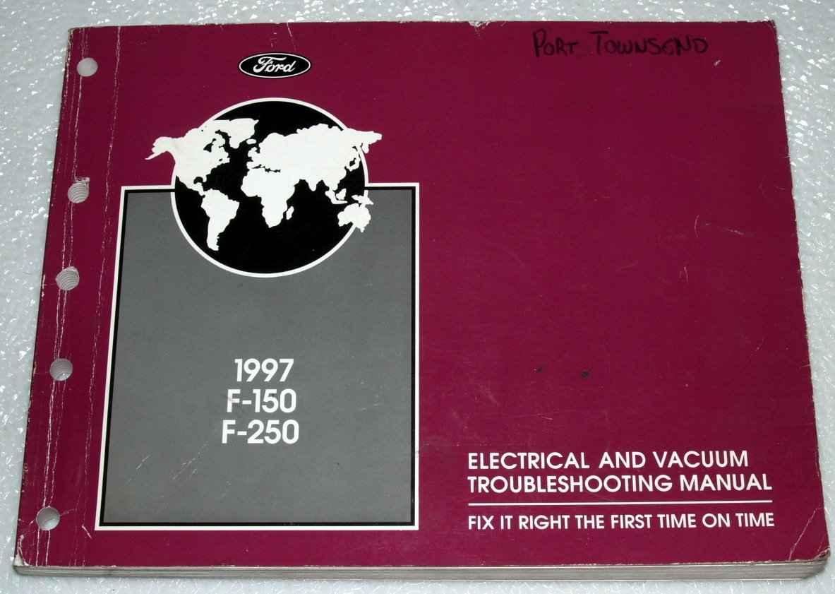 1997 Ford F-150 Electrical and Vacuum Troubleshooting Manual: ford motor  co.: Amazon.com: Books
