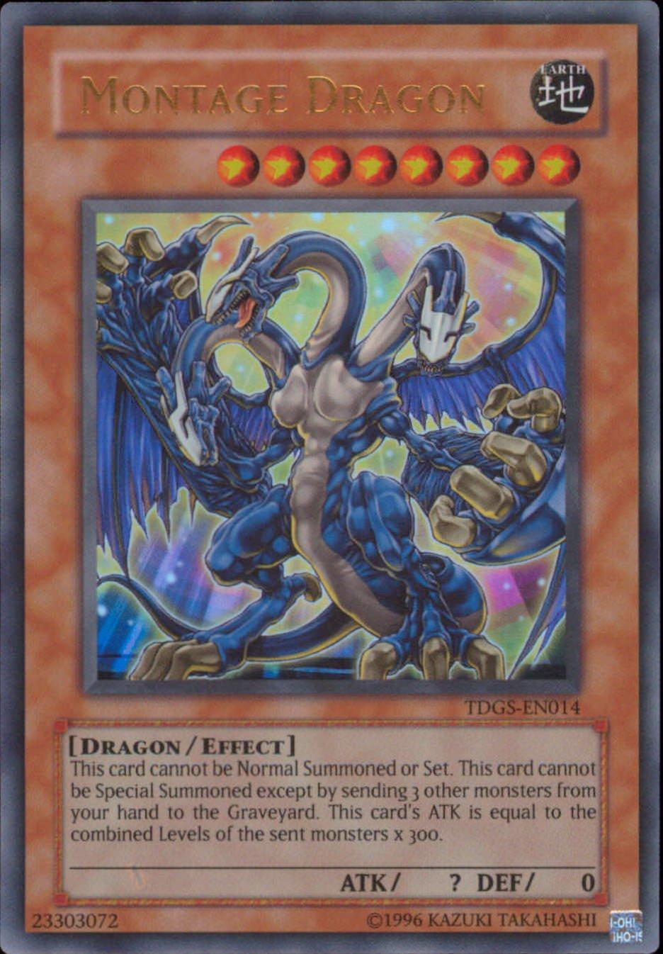 amazon com yu gi oh montage dragon ultimate the duelist
