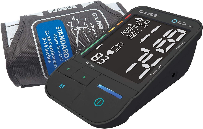 G.LAB MD41W1 WiFi, IFT & Big Display Upper Arm Cuff Blood Pressure Monitor Works with Alexa
