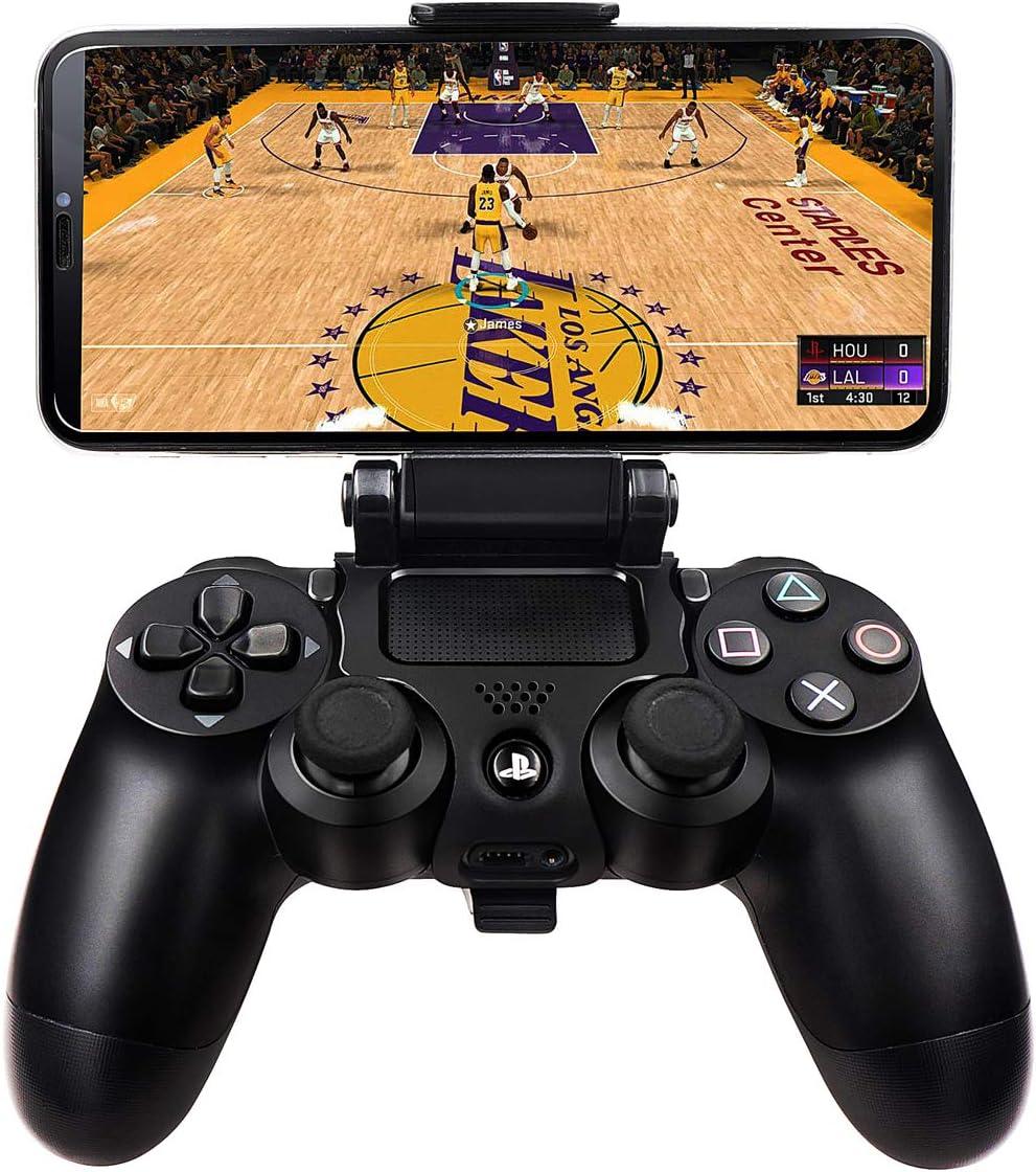 BLUELAKE - Soporte de clip para teléfono compatible con mando inalámbrico Playstation 4 Slim Pro PS4: Amazon.es: Electrónica