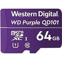 Western Digital WD Purple SC QD101 64 GB microSDXC Ultra Endurance, Speed Class 10, UHS Speed Class 1 U1
