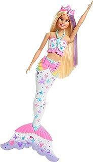 Amazon.es: Barbie - Muñeca Sirena Burbujas mágicas (Mattel CFF49 ...