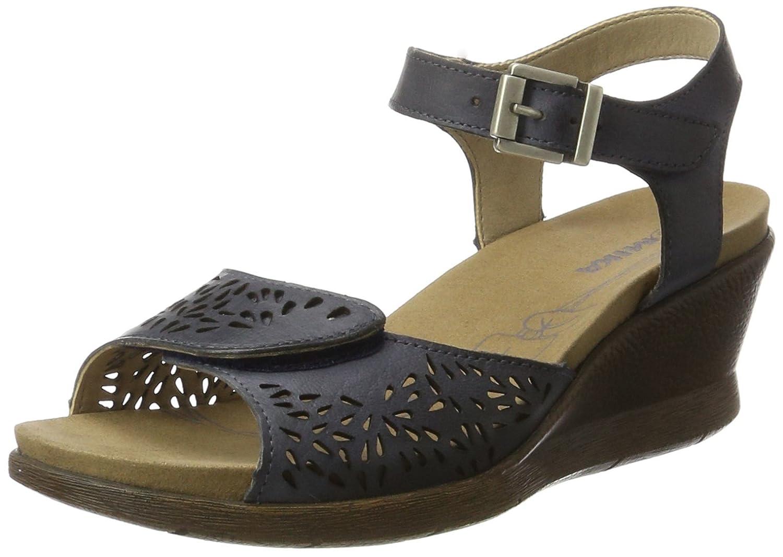 Romika 20305 96, Sandalias de Cuñas Mujer