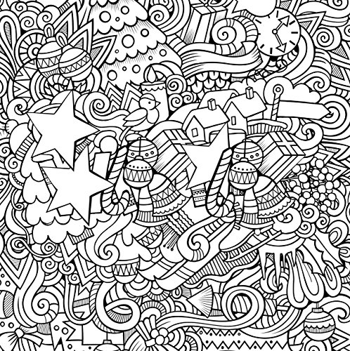 Christmas designs adult coloring book 31 stress relieving Coloring books for adults on amazon