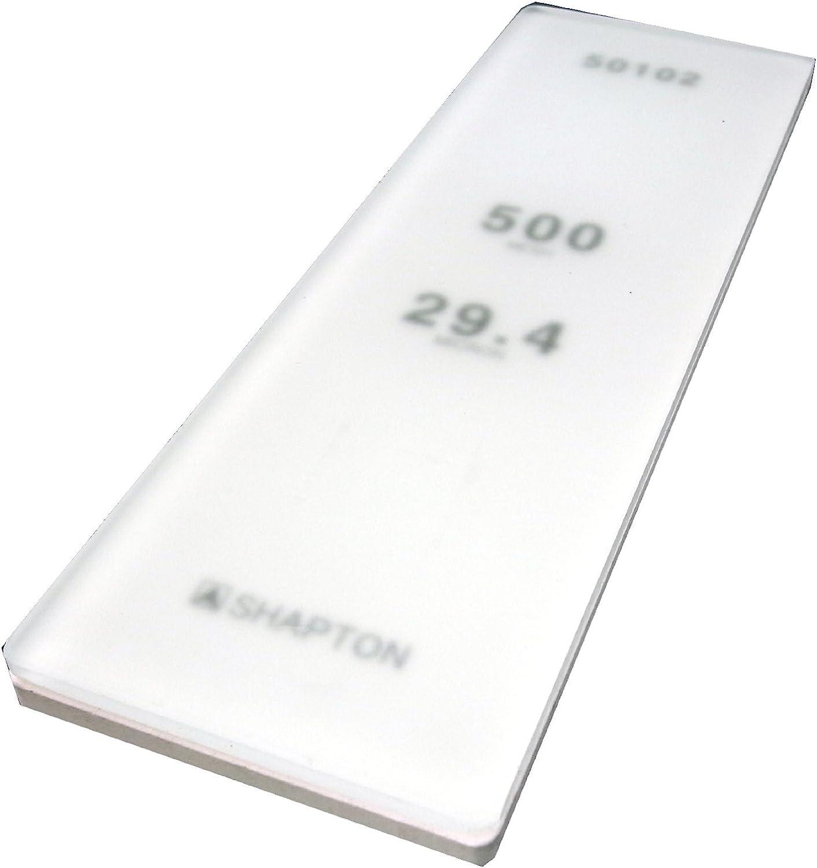Shapton Glass Stone Piedra De Afilar 500 Grit