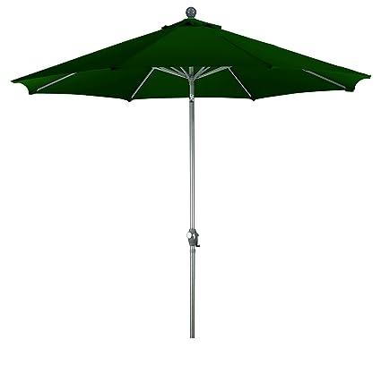 Merveilleux Phat Tommy 9 Ft Aluminum Market Patio Umbrella U2013 Outdoor Living U0026 Shade, Hunter  Green