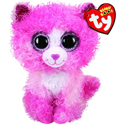 "Ty Beanie Boos 6"" Reagan The Cat - Perfect Plush!: Toys & Games"