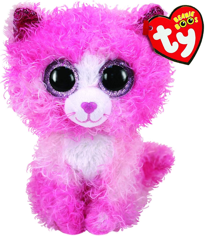 Alaska Stuffed Animals, Amazon Com Ty Beanie Boos 6 Reagan The Cat Perfect Plush Toys Games