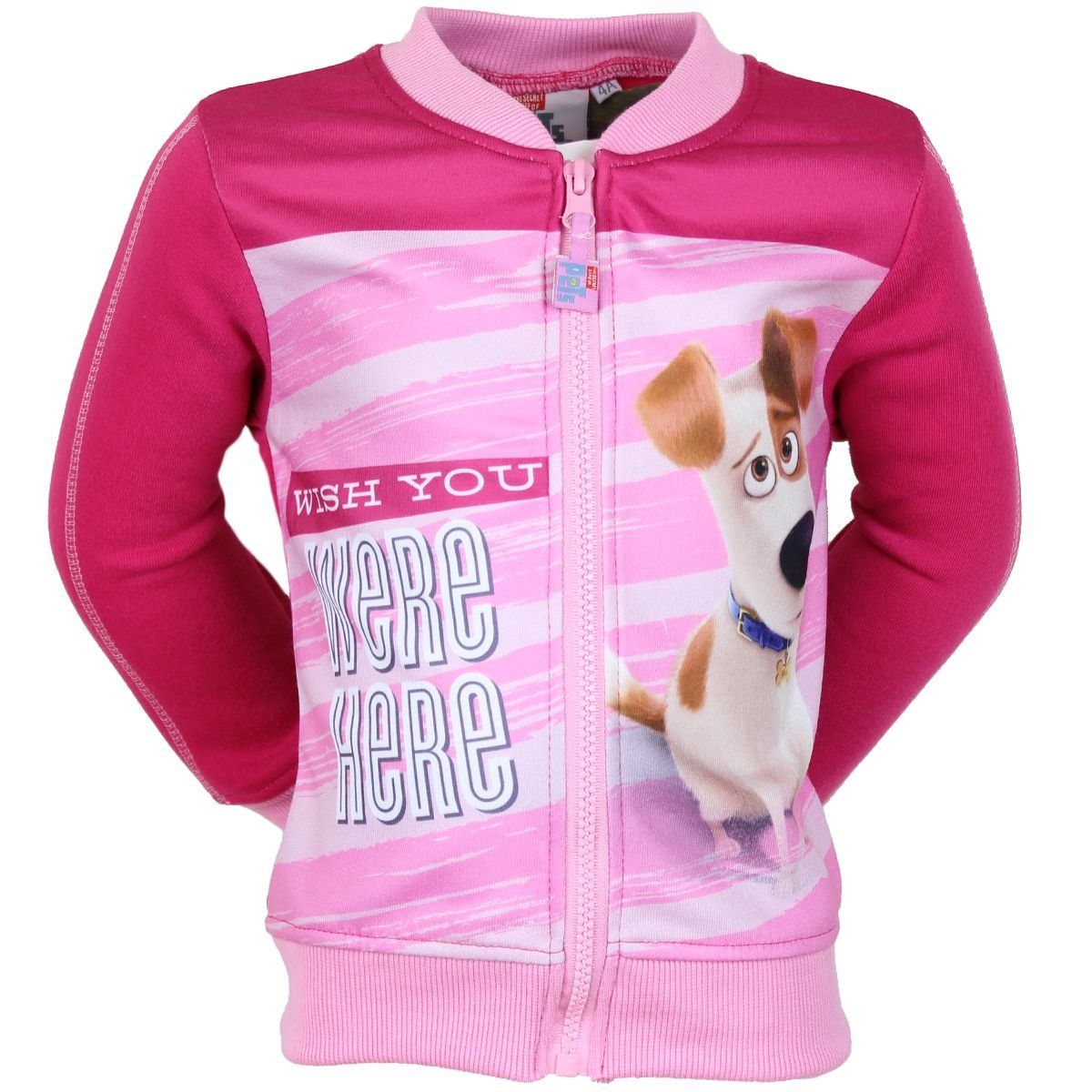 The Secret Life of Pets Chaqueta Mangas largas Niñas Wish ...