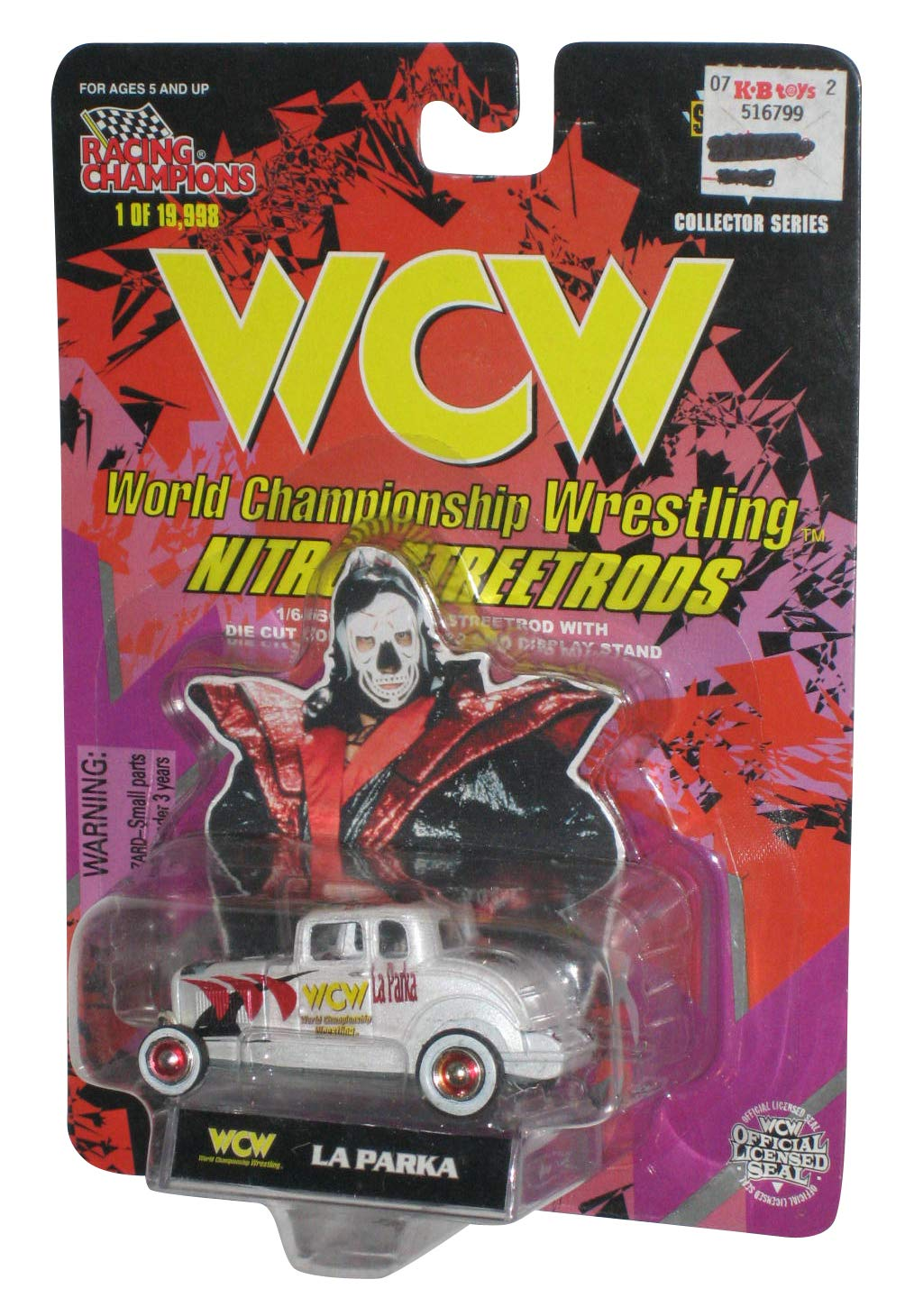 Amazon.com: WCW Nitro streetrods la Parka Die Cast Car: Toys ...
