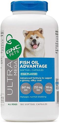 GNC Pets Ultra Mega Fish Oil