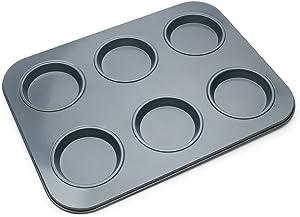 Fox Run 4474 Large Muffin Top Pan, 14 x 10.5 x 0.5 inches, Metallic