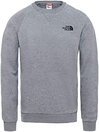 2933d289 THE NORTH FACE Men's Raglan Simple Dome Long Sleeve T-Shirt, TNF Medium Grey