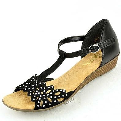 Sandalette, Rieker Antistress Kollektion 2014 in schwarz