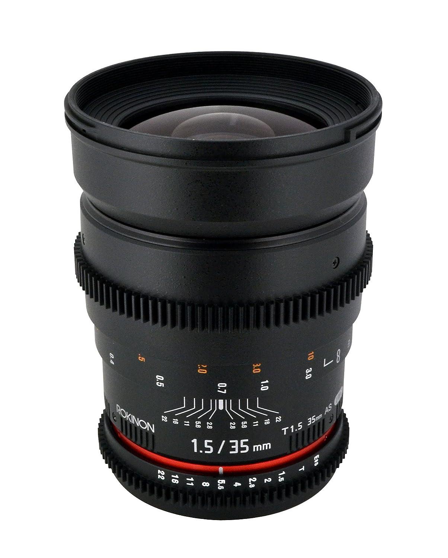 Rokinon 35mm Cine T1.5 Lens