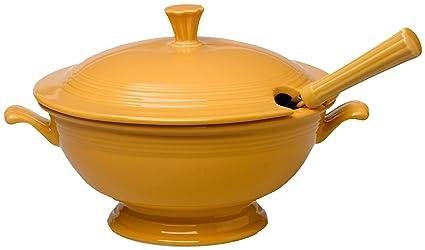 Fiesta 75th Anniversary Soup Tureen Marigold  sc 1 st  Amazon.com & Amazon.com | Fiesta 75th Anniversary Soup Tureen Marigold: Soup ...