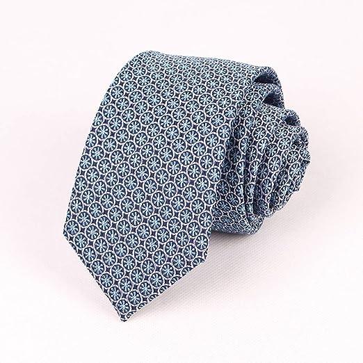 YXCM Corbatas de Seda para Hombre Ocio Profesional de Seda ...