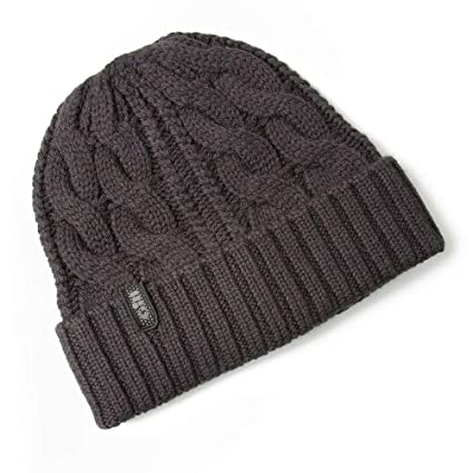 Gill 2018 Cable Knit Beanie Graphite HT32: Amazon.es: Deportes y ...