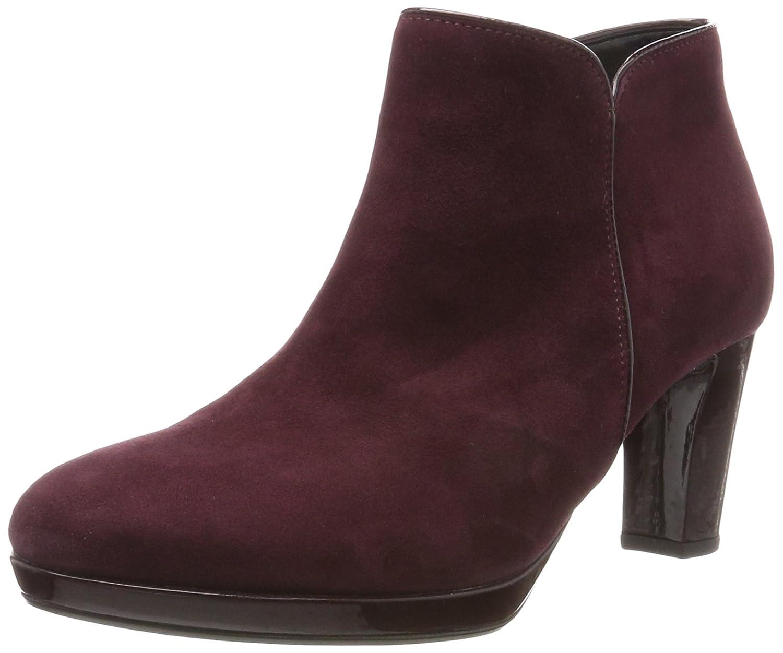 Gabor Damen Comfort Basic Stiefel Rot Merlot (48 New Merlot Rot (Ldf)) d049ff