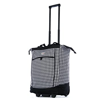 ee362428e Amazon.com: Olympia Fashion Rolling Shopper Tote - Houndstooth, 2300 cu. in.