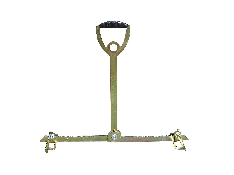 ViD L/ève-plaque Convient au dos gr/âce /à une poign/ée extra longue 30 /à 62 cm Fabriqu/é en Allemagne Capacit/é jusqu/à 70 kg