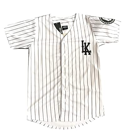 fcf7b2462 AIFFEE Men s Hiphop Baseball Jersey  07 KINGIN S-XXL White Color Stitched  Letter an
