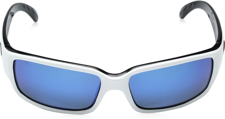 Costa del Mar Unisex-Adult Cabalitto CL 11 OBMP Polarized Iridium Wrap Sunglasses