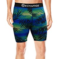 Recharge Men Polyester Compression Sports Shorts Half Tights