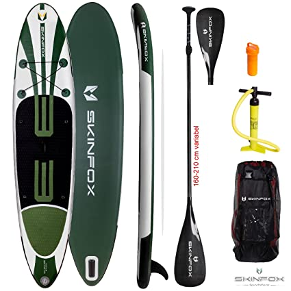 Skin Fox Turtle Double Layer Sup Base Set incluye Duo de Sup/Remo Completo Carbon