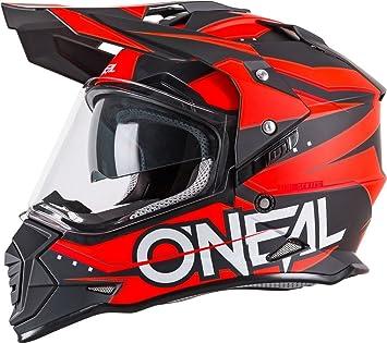 ONeal - Casco de Moto Dual, con Visera