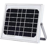 MEIKEE Panel Solar Fotovoltaico, 4000mAh lámpara de energía solar para exteriores, lámpara solar LED Panel solar para…
