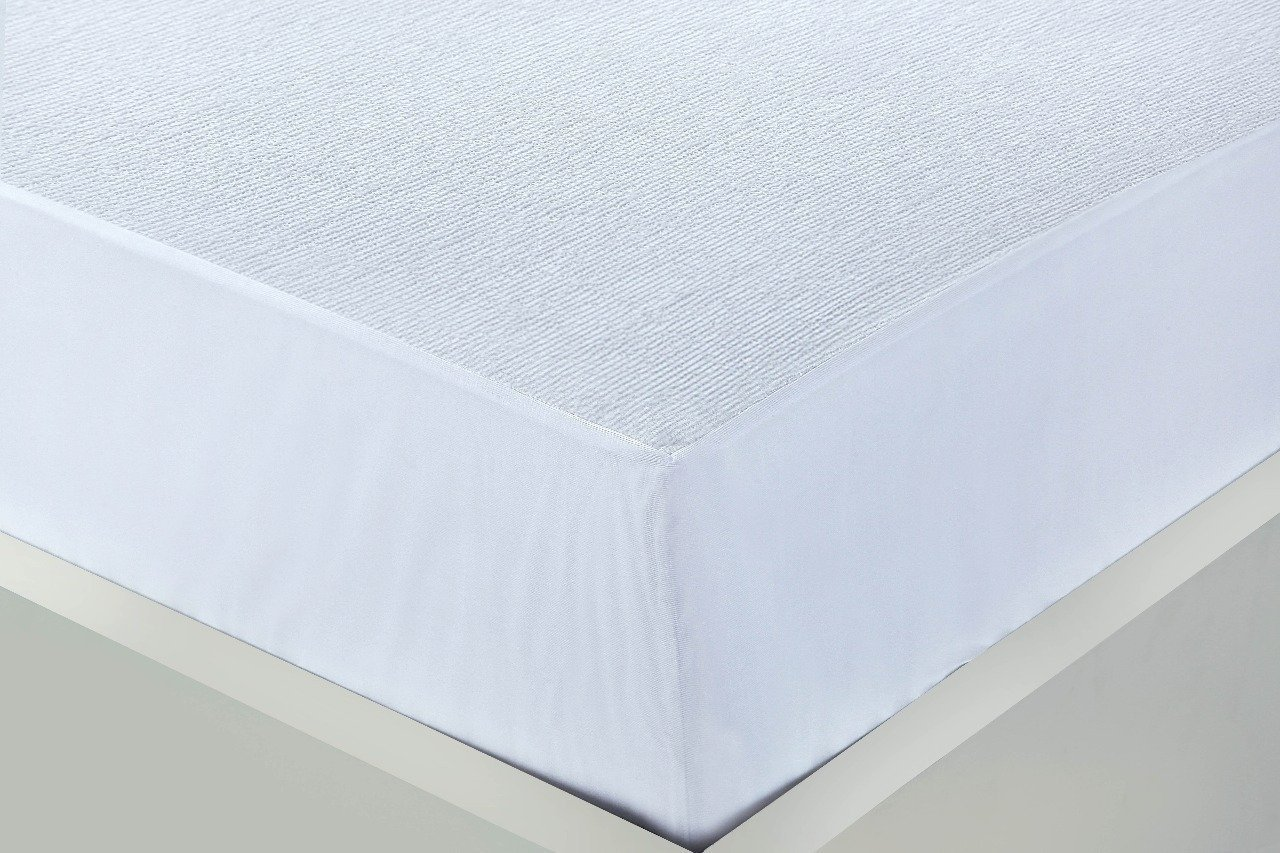 King Linen Galaxy 100/% Cotton Terry Towel Non Noisy Mattress Protector Cot Mosses Bunk 4ft Sinlge Double King Super King Water Proof