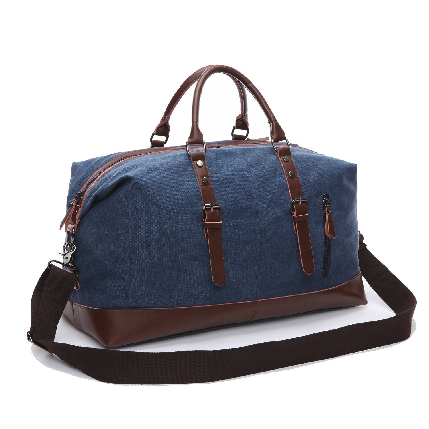 Canvas Duffel Bag Oversized Travel Overnight Weekender Luggage for Men Women K8655