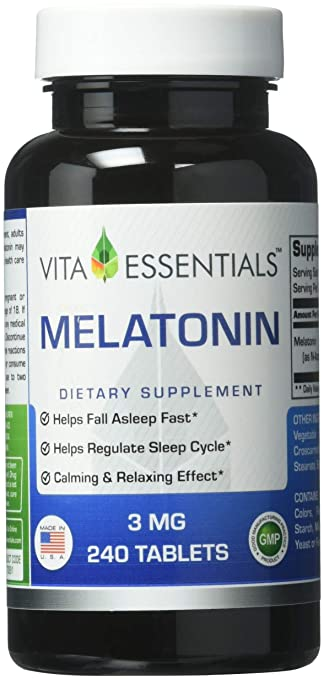 Image Unavailable. Image not available for. Color: Vita Essentials Melatonin 3 Mg Tablets, 240 Count