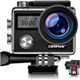 【Upgrade】 Campark X20 Action Camera Native 4K Ultra HD 20MP with EIS Stablization Touch Screen Remote Control Waterproof…