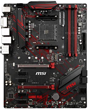 MSI B450 GAMING PLUS Socket AM4 ATX Motherboard for AMD Ryzen Processors