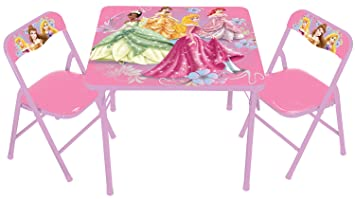Disney Princess Nouveau Activity Table Set  sc 1 st  Amazon.ca & Disney Princess Nouveau Activity Table Set: Inc Kids Only: Amazon.ca ...