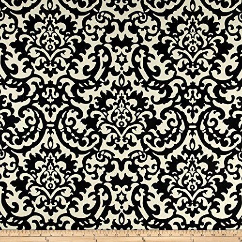 Waverly Sun N Shade Duncan, Fabric, Ebony
