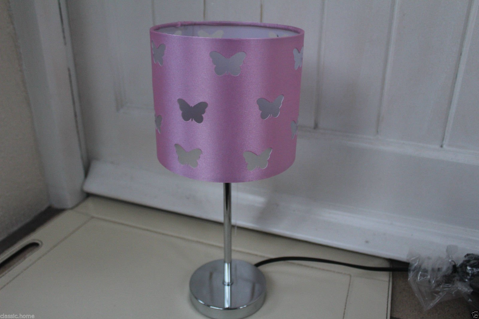 Pink Girls Room Table Lamp Butterfly Lamp Girls Bed Side Table Lamp Shade Light Pink Buy Online In Botswana Missing Category Value Products In Botswana See Prices Reviews And Free