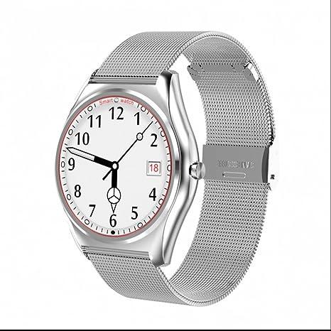 Reloj Inteligente Bluetooth Smart Watch Inteligente Teléfono,Sleep Monitor,Extremadamente delgado,Podómetro,