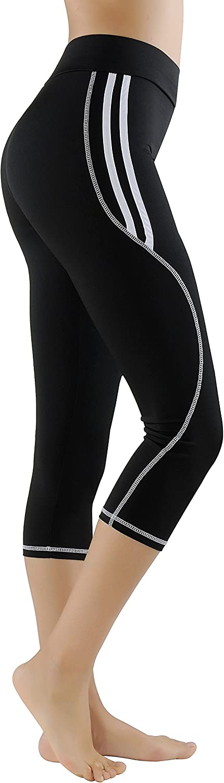GoVIA Leggins para Damas Pantalones Deportivos Largos para Training Running Yoga Fitness Transpirables con Cintura Alta 4101
