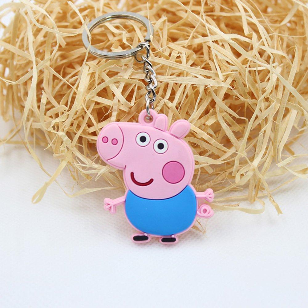 DEBON Peppa Pig - Llaveros con diseño de Peppa Pig para toda ...