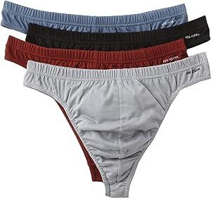 4 Pairs Joe Boxer Men's Thong Underwear Small /28-30