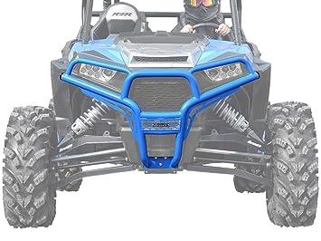 Polaris RZR xp Turbo cepillo delantero guardia velocidad (azul): Amazon.es: Coche y moto