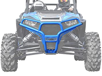 Polaris RZR xp Turbo cepillo delantero guardia velocidad (azul)