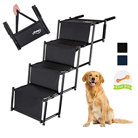 Amazon.com: Niubya - Escalera plegable para perro, ligera ...