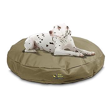 Camas ortopédicas de espuma viscoelástica para perro Doza redondas, impermeables: Amazon.es: Productos para mascotas